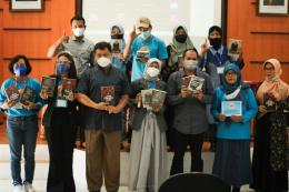 Peluncuran Buku Hasil Karya Para Penulis SKS/Dokpri