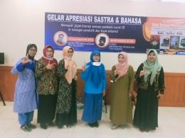 Beberapa peserta Gelar Apresiasi Sastra & Bahasa/Dokpri