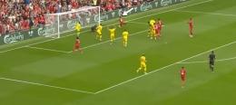 Proses Gol Pertama Liverpool Melawan Palace.(Sumber: Youtube.com/LiverpoolFC)