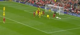 Proses Gol Salah Melawan Palace. (Sumber: Youtube.com/LiverpoolFC)