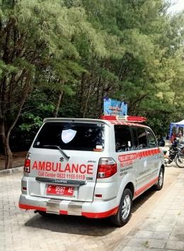 Ambulans PSC 119 Dinkes Kota Tegal - dokpri