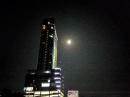 Bulan purnama bulat sempurna. Foto: dokpri