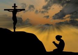 Ilustrasi salib Yesus. Foto: www.katedralpangkalpinang.com