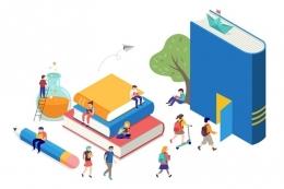 Ilustrasi mahasiswa, kampus, universitas, perguruan tinggi. (sumber: Shutterstock via kompas.com)