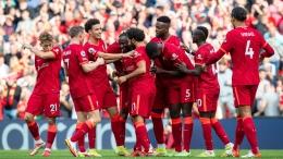 Liverpool merayakan gol dari Naby Keita (Sumber: Twitter.com/LFC)