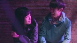 Nanno tersenyum bersama TK. Gambar: tangkapan layar pribadi.