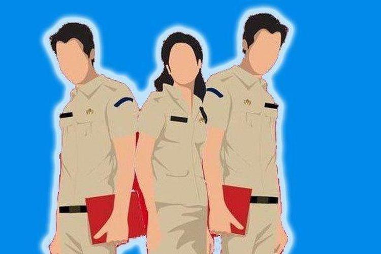 Ilustrasi ASN dan PNS. (sumber: TRIBUN JABAR via kompas.com)