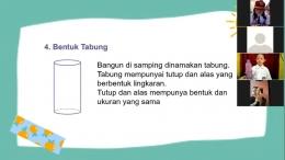Siswa aktif dalam menyebutkan contoh benda berbentuk tabung, Bekasi, Selasa (07/09/2021). (Foto: Kompasiana/Amalia Reshitasari)