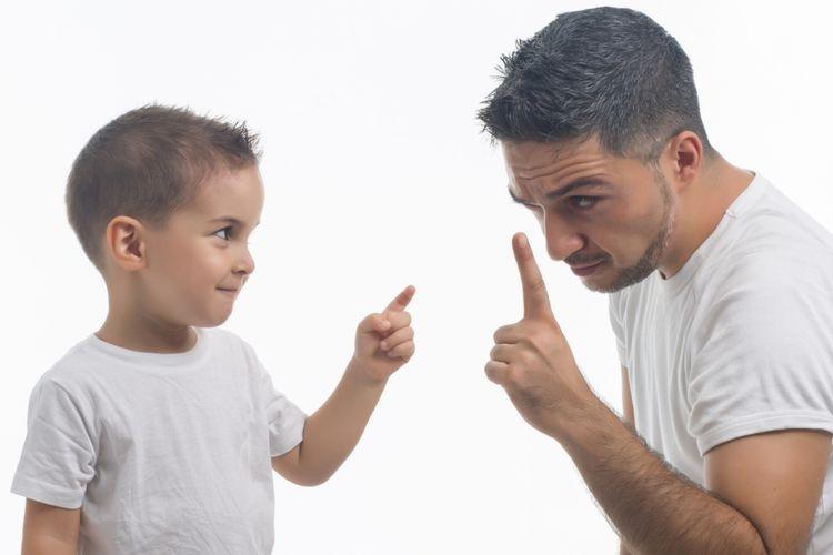 Ilustrasi ayah berselisih dengan anak (bbevren) via lifestyle.kompas.com