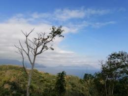 Pemandangan kota Ende dari View jalur jalan Rajawawo ke Maunggora | Dokumen pribadi Kompasianer Ino
