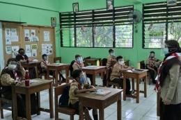 Ilustrasi tantangan guru dalam mengajar di masa pandemi covid-19. Foto: Kompas.com/Ihsanuddin