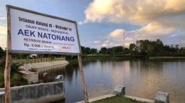 Danau Aek Natonang (Tribunnews.com)