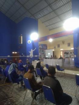 Sosialisasi di Desa Kebon Manggu