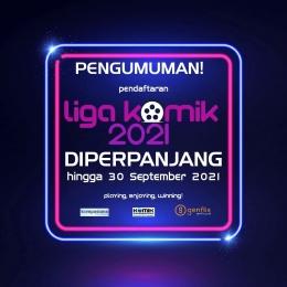 Pendaftaran Liga KOMiK diperpanjang hingga 30 September 2021 | dok. KOMiK