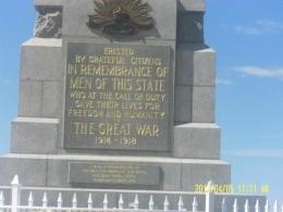 Keterangan mengenai Memorial War (Dok Pribadi)