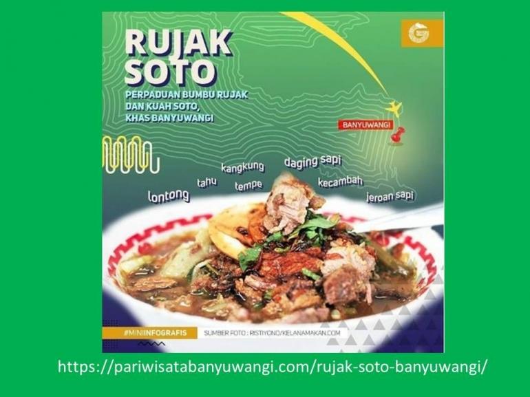 Rujak Soto Kuliner Banyuwangi (gambar dari pariwisatabanyuwangi.com)