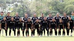 Tim Sepakbola PON NTT 2021. Sumber: Media Pos Kupang