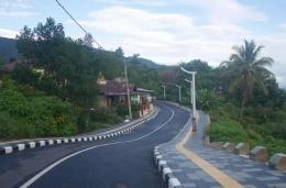 Pemandangan Desa Tuktuk Siadong (Foto : Pribadi)