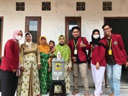 Pembagian tempat sanitasi ke tempat TPQ (dokpri)