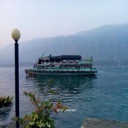 Ilustrasi: Kapal Motor Jenis Kayu (Heritage of Toba) Sumber: dokpri