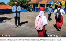 Gambar 1. Cuplikan Video PTMT SD Negeri Tugu (dokpri)