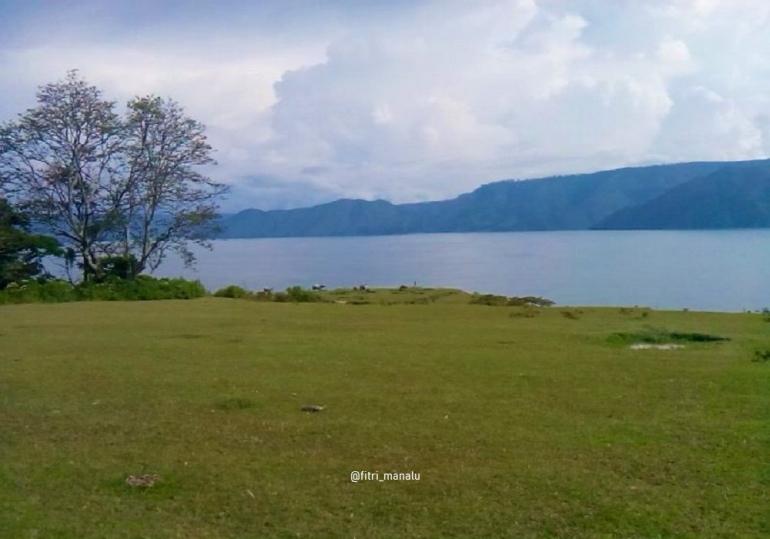 Ilustrasi: Danau Toba dari Perbukitan (Heritage of Toba) Sumber: dokpri