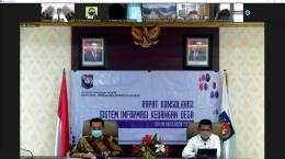 Kiri: Dr. Yusharto Huntoyungo, M.Pd.Kanan: Wasis Prabowo, SE. MM. (Dok.Pri)