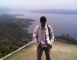 Danau Toba dari ketinggian. Doc Pri