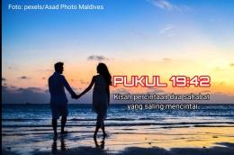 Gambar ilustrasi Pukul 19:42 | (sumber: pexels.com/Asad Photo Maldives)