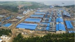 Kawasan industri PT IMIP. Sumber foto: CNBC Indonesia