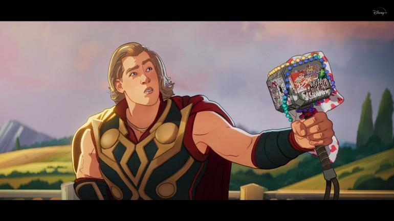 Meski senang pesta, party Thor malah membuat universe jadi damai. Sumber : Disney+