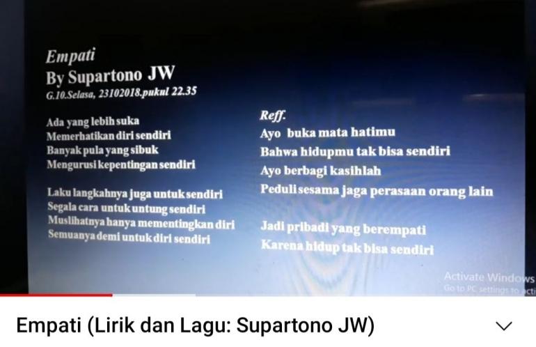 Ilustrasi Supartono JW