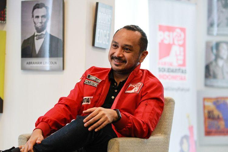 Plt. Ketua Umum Partai Solidaritas Indonesia (PSI), Giring Ganesha. Sumber: KOMPAS.com / KRISTIANTO PURNOMO