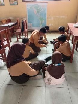 Saat anak-anak bermain di kelas | Dokumentasi pribadi
