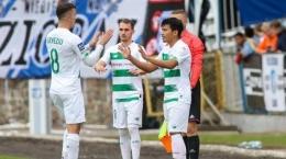 Momen debut Witan di Lechia Gdansk (Tribunnews.com)