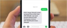 Contoh Laporan Penggunaan Kartu Kredit. Sumber Situs HSBC Indonesia