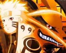 Naruto dan Kurama di anime Boruto episode 217. (Sumber: id.phoneky.com)