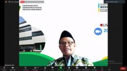 Kepala Kantor Wilayah Kementrian Agama Provinsi Jawa Barat (Dr.KH Adib M.Ag)/dokpri