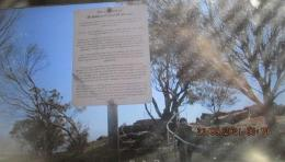Keterangan mengenai Mt Bakcwell dan Mt Brown (dok rpibadi)