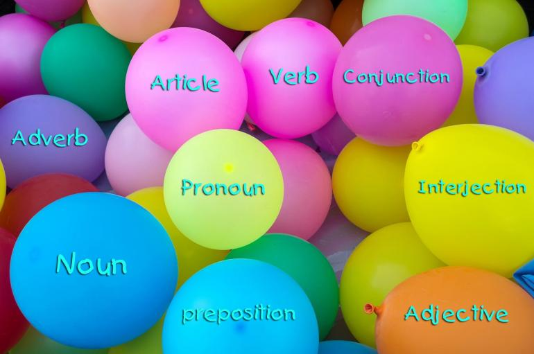 Parts of Speech (Sumber: Pixabay, retouched oleh penulis)