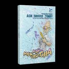 Ilustrasi cover buku Mari Menjadi Gila karya: Ach Dhofir Zuhry. (Sumber: Inkuiri.com)