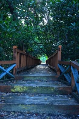 Terbengkalai, Wisata Hutan Mangrove desa TATAKALAI, Banggai Kepulauan, Sulawesi Tengah (Dokpri)