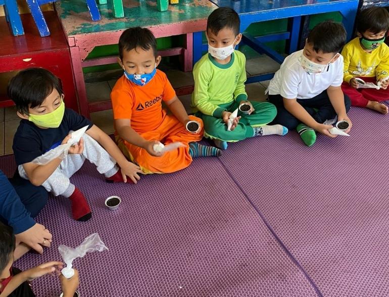 Taman kanak kanak Asy – syiffa Ciumbuleit Bandung/Dokumentasi pribadi