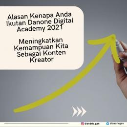 DDA 2021 menjadi ajang meningkatkan skill sebagai konten kreator I Sumber Foto : dokpri design by Canva