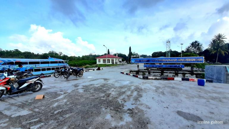 Pelabuhan Onan Runggu (Dokumentasi pribadi)