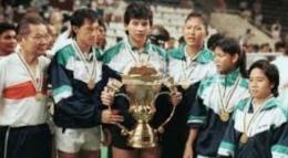 Foto.indosport.com/Indonesia menjuara Piala Sudirman Tahun 1989.