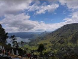Tele- Kawasan Geopark Kaldera Toba(Sumber foto dok. Veronika br Naibaho)