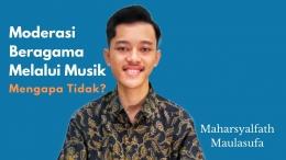 Alfath, Musisi Muda Indonesia Delegasi UNESCO Summer Camp IMUN Virtual Conference pada 19-25 Juli 2021 di Maryland, Amerika Serikat (Dok. pribadi)