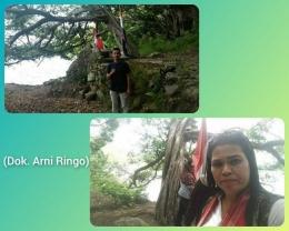 Suatu tempat 'pemujaan' (Bona bona) sebelum naik ke Gunung Pusuk Buhit, di P. Samosir. (Dok. Arni Ringo)