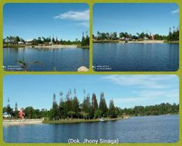 Danau Aek Natonang, ibarat danau di atas danau di P. Samosir (Dok. Jhony Sinaga)